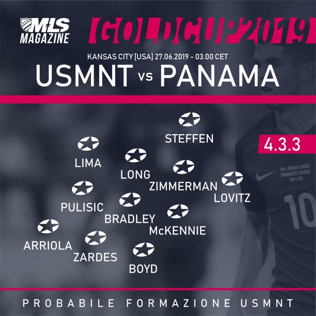 USMNT vs PANAMA | MLS MAGAZINE ITALIA