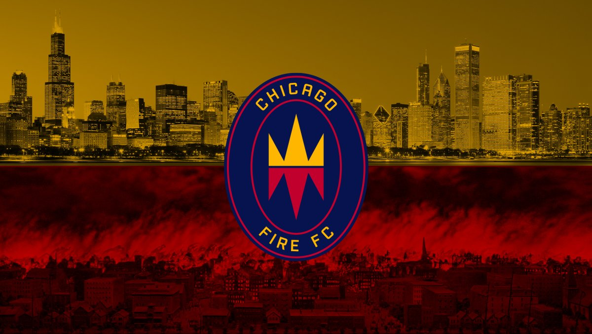 New logo brand Chicago Fire | MLS Magazine italia