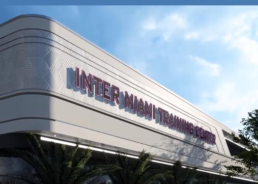 InterMiami FC presenta il nuovo centro di allenamento | MLS MAGAZINE ITALIA