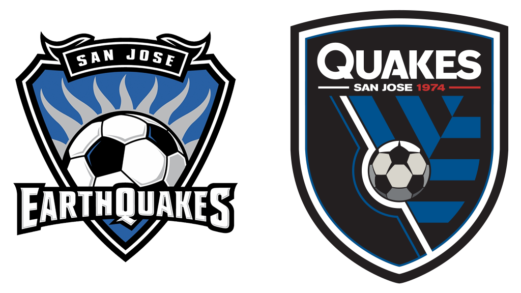 logo rebrand SJ Earthquakes | MLS Magazine Italia