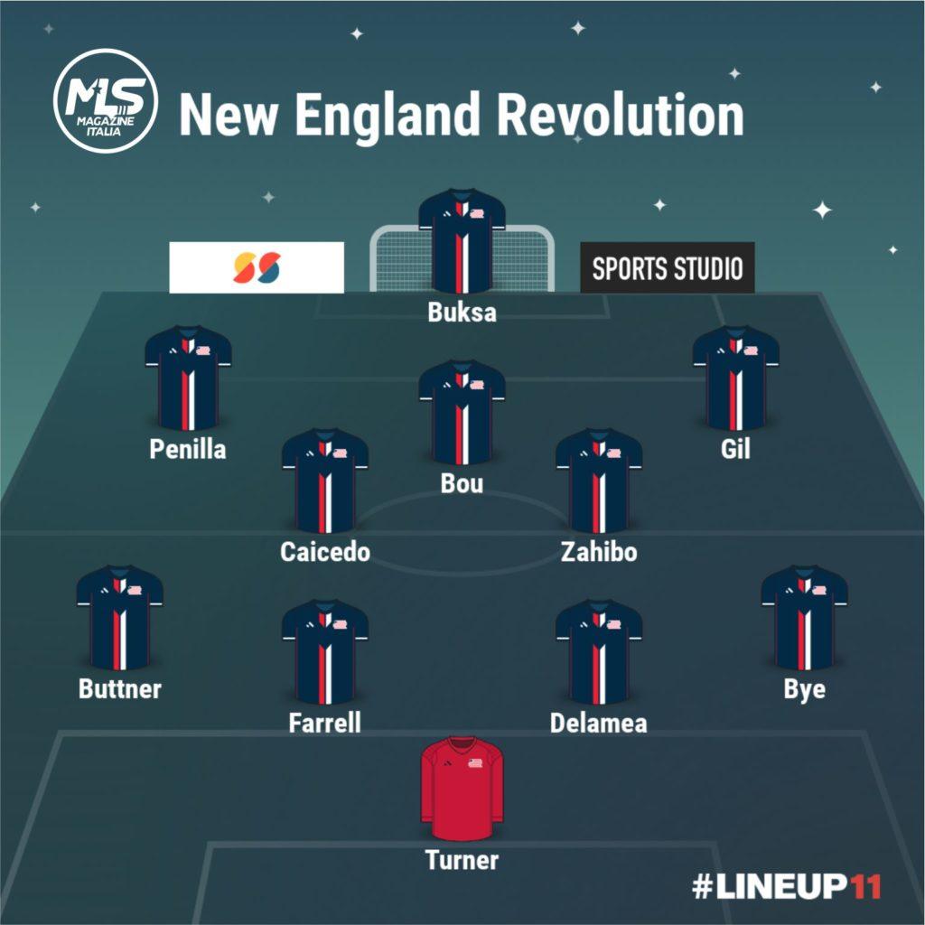 New England Revolution | MLS Magazine Italia