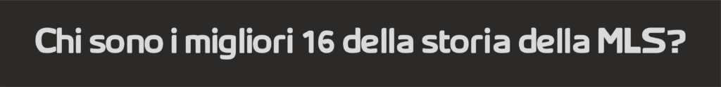MLS hall of fame | mls magazine italia