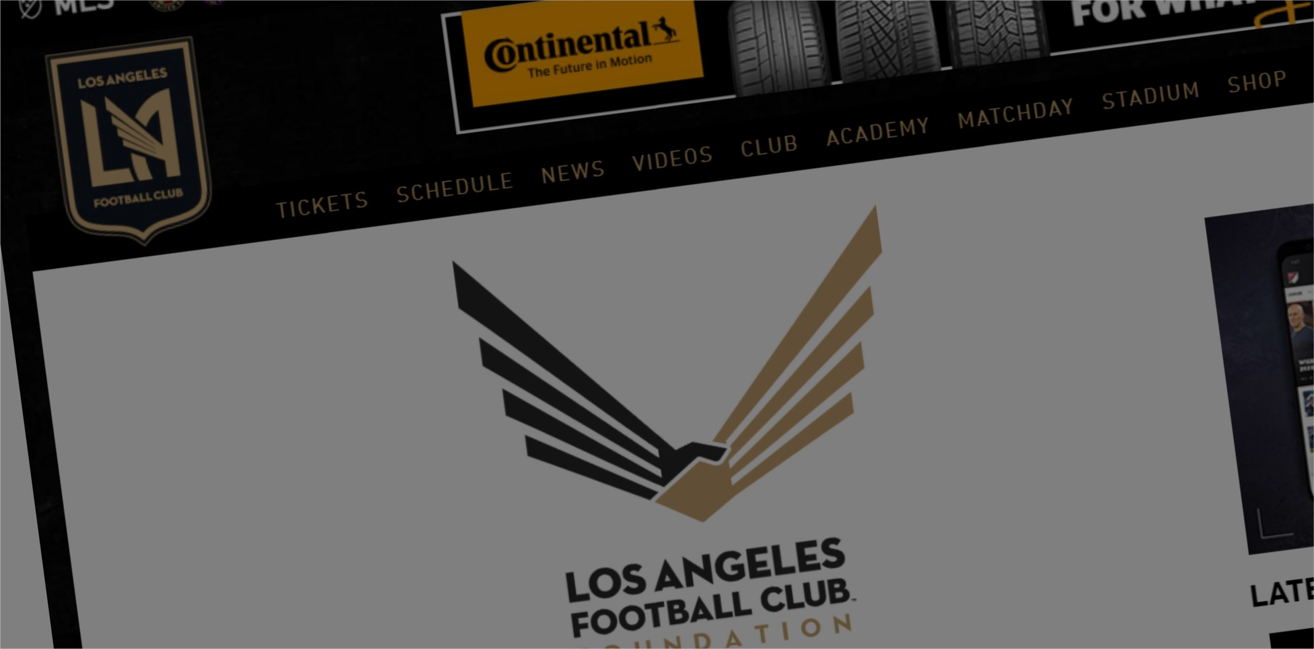 Los Angeles FC Foundation | MLS Magazine Italia