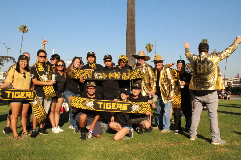 Tigers Group supporters | MLS Magazine