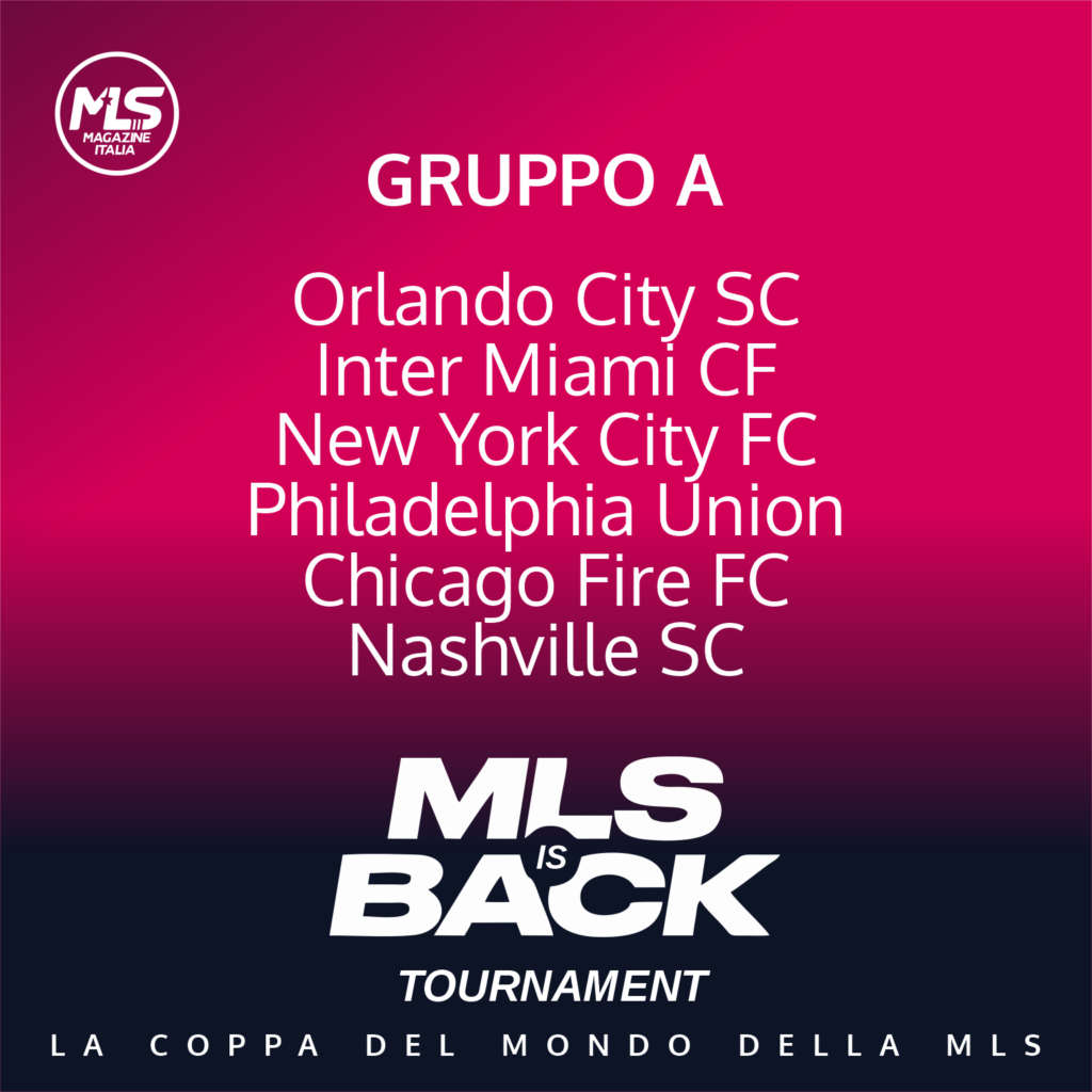 MLSisBack Tournament | MLS Magazine Italia