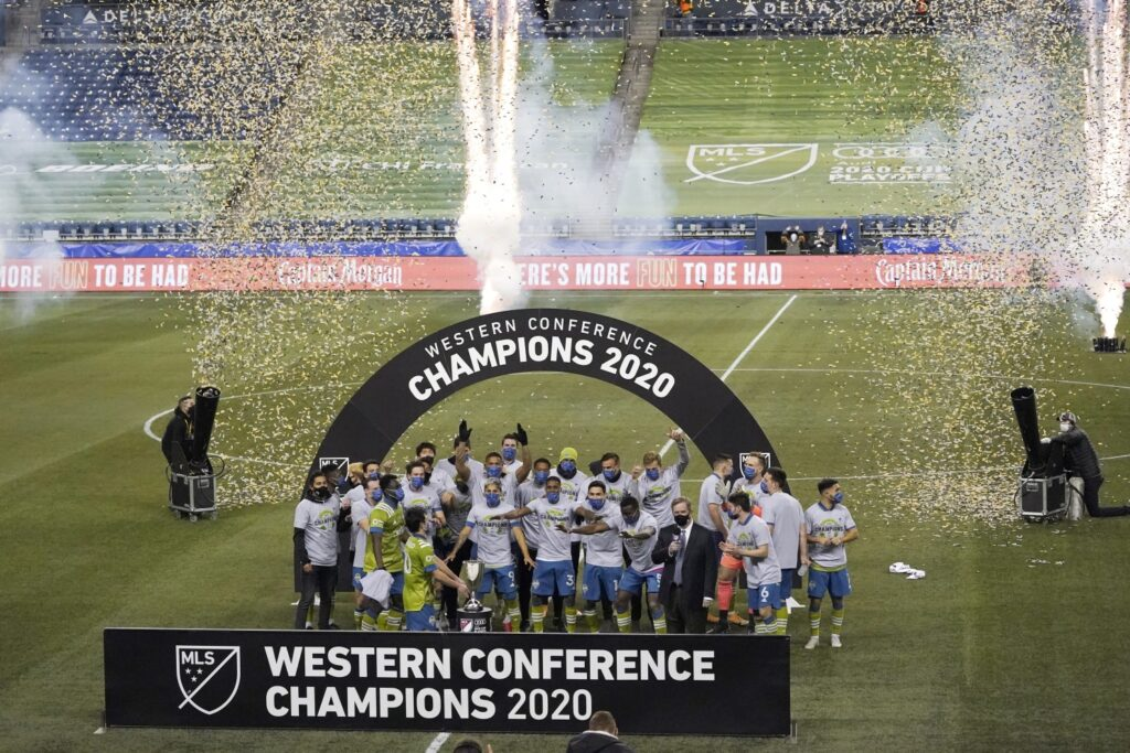 Seatle SOunders Campioni Western Conference 2020
